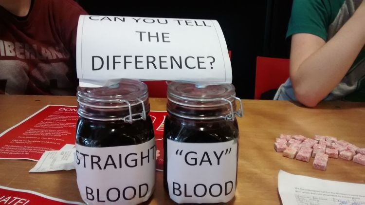Prop QUB LGBT+ Society are using for their campaign in the SU.