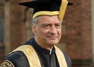 Mr Kamalesh Sharma. Photo courtesy of QUB communications.