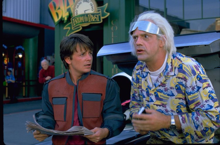 """Back to the Future II"" (1989) Photo: Universal Studios"
