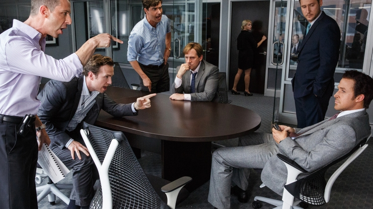 Pointing fingers big short